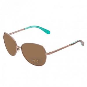 KATE SPADE Candida Brown Round Ladies Sunglasses CANDIDAPS 0EQ6