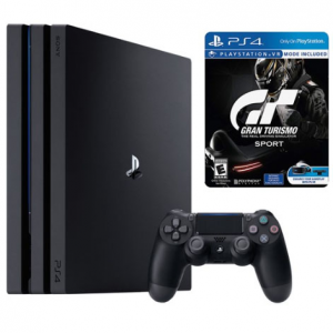 Sony Playstation 4 Pro 1TB and Gran Turismo Sport Limited Edition Steelbook Bundle @ MassGenie