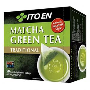 Ito En Traditional Matcha Green Tea, 50 Count @ Amazon