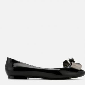 Melissa Women's Doll Dream Bow Ballet Flats - Black