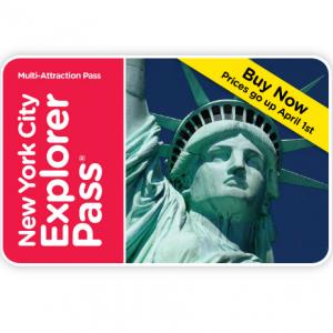 Go City Card - 紐約景點探索套票New York Explorer Pass  5折起
