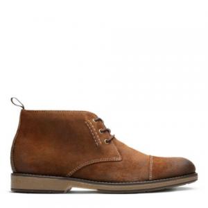 Clarks Hinman Mid 男款短靴