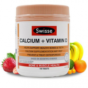 Swisse Ultiboost Calcium Plus Vitamin D Supplement 250 Tablets @ Amazon