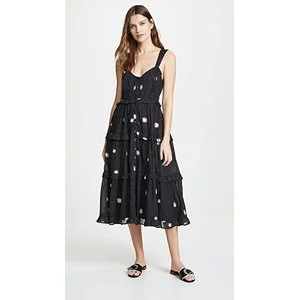 Free People Daisy Chain Midi Dress