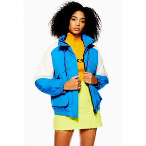 Padded Windbreaker Jacket