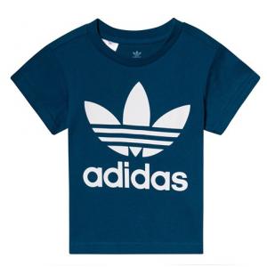 adidas Originals Blue Trefoil Logo T-Shirt
