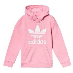 adidas Originals Light Pink Trefoil Logo Hoodie