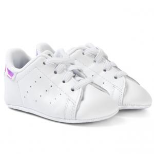adidas Originals White Stan Smith Crib Trainers