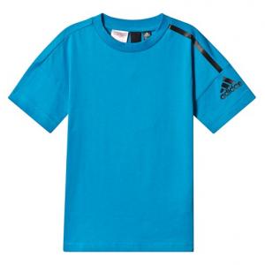 adidas Performance Blue Branded T-Shirt