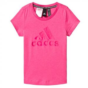adidas Performance Pink Logo T-Shirt