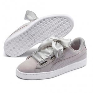 Suede Heart Galaxy Women's Sneakers