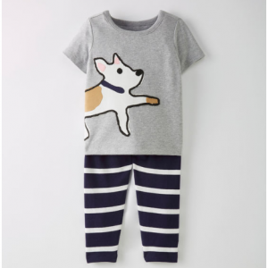 Hanna Andersson Play In, Play Out Art Tee + Pant Set