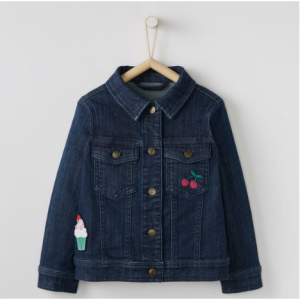Hanna Andersson Be Loved Jean Jacket