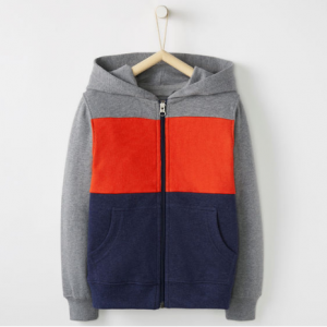 Hanna Andersson Jersey Lined Hoodie In French Terry