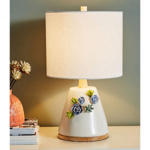 Ceramic Garden Table Lamp