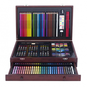 Art 101 142-Piece Wood Art Set @ Amazon