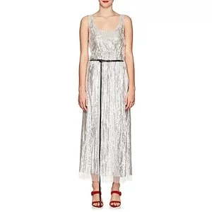MARC JACOBS Sequined Belted Midi-Dress