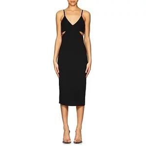 ALEXANDERWANG.T Jersey Cutout Fitted Dress