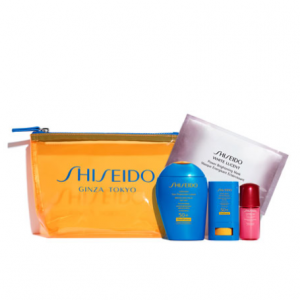 Shiseido Ultimate Sun Protection Lotion WetForce Sunscreen Value Set