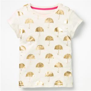 Boden 女童短袖T恤