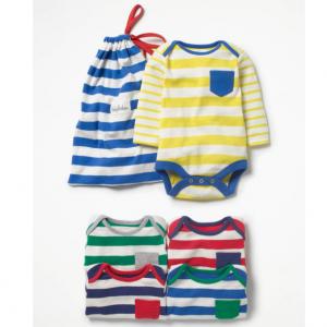 Boden 婴儿长袖包臀衫5件套带整理包