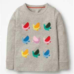 Boden TEXTURED APPLIQUÉ T-SHIRT