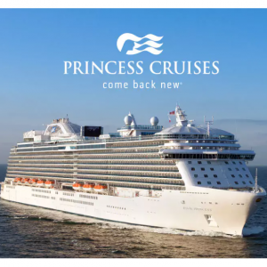 Come Back New Sale - From $99 For Your Extra Guests @Princess Cruises