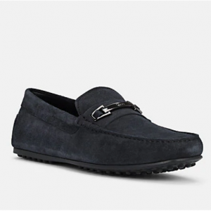 TOD'S Bit-Detail Suede Drivers
