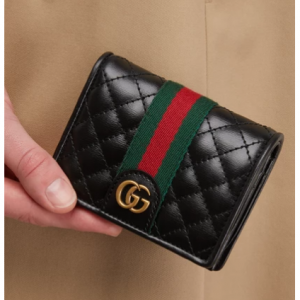 Gucci Small quilted wallet