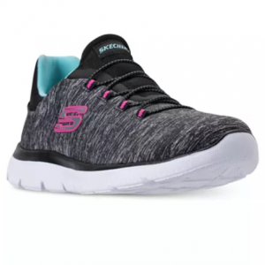 Skechers Women's Summits - Quick Getaway Wide Width Walking Sneakers