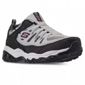 Skechers Men's After Burn M. Fit Wide Width Walking Sneakers