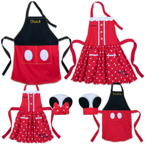 shopDisney 儿童厨师帽、围裙