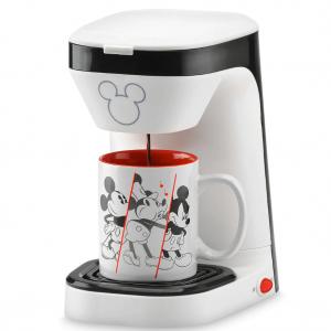 shopDisney 米奇90周年咖啡机+马克杯套装