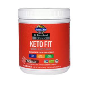 Garden of Life Dr. Formulated Keto Fit Chocolate -- 12.87 oz