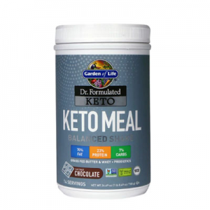 Garden of Life Dr. Formulated Keto Meal Balanced Shake Chocolate -- 24.69 oz