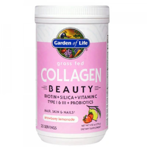 Garden of Life Grass Fed Collagen Beauty Strawberry Lemonade -- 9.52 oz
