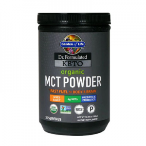 Garden of Life Dr. Formulated Keto Organic MCT Powder -- 10.58 oz
