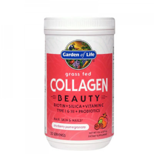 Garden of Life Grass Fed Collagen Beauty Cranberry Pomegranate -- 9.52 oz