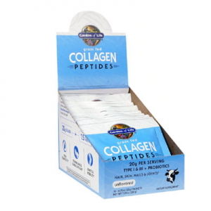 Garden of Life Grass Fed Collagen Peptides Unflavored -- 10 Packet Tray
