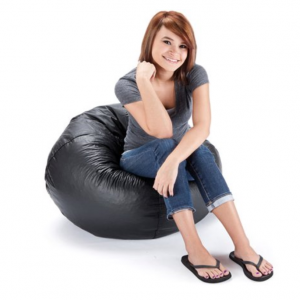 "66% OFF X Rocker 96"" Round Vinyl Matte Bean Bag @Walmart"