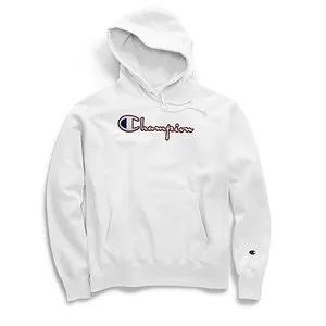 Champion Life® Men's Reverse Weave® Pullover Hood, Satin Stitch Script Logo