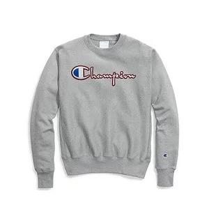 Champion Life® Men's Reverse Weave® Crew, Satin Stitch Script Logo