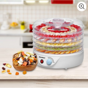 85% OFF Sancusto 5 Tier 240W Airflow Circulation Electric Food Fruit Dehydrator Dryer @Walmart