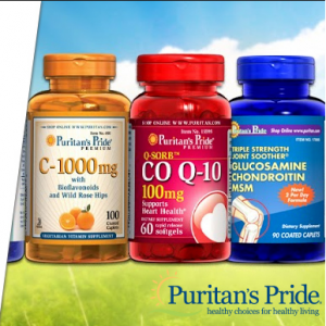 Puritan's Pride family of brands on sale