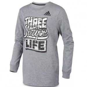 Adidas 男童长袖T恤