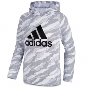 Adidas Boys' Fleece Camo-Print Hoodie - Little Kid, Big Kid