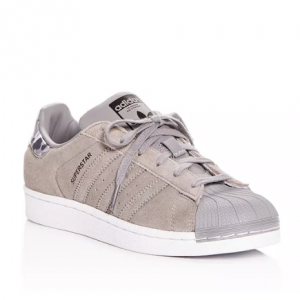 Adidas Unisex Superstar Suede Lace-Up Sneakers - Big Kid