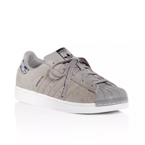 Adidas Boys' Superstar Suede Lace up Sneakers - Toddler, Little Kid