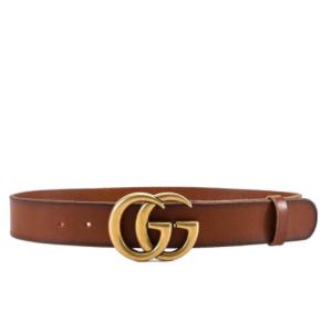 13% OFF Gucci GG Buckle Belt @Cettire