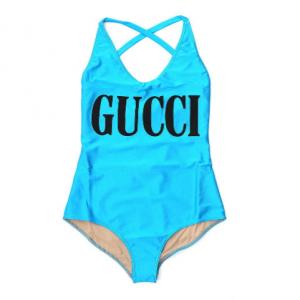 Gucci Print Cross Back Swimsuit